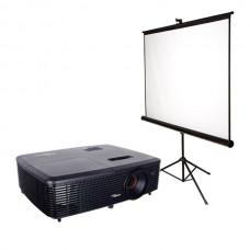 Проектор (800х600) с мобильным экраном