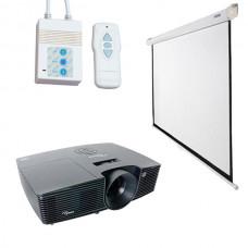 Проектор (1280х800) с авто экраном