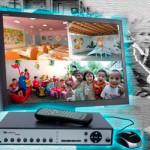 Как организовать видеонаблюдение для детского сада